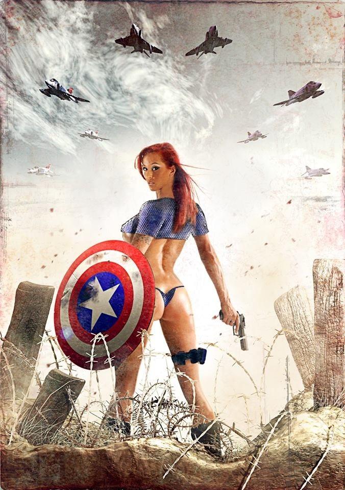 Toronto Aug 01, 2013 Bruce Colero Captain America