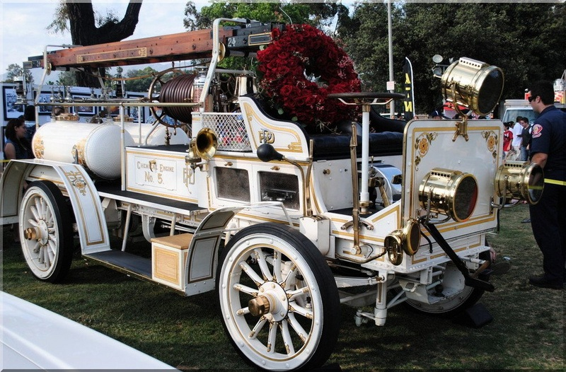 Rose Bowl in Pasadena, CA Aug 02, 2013 Pacheco Photography Old School Pasadena Firetruck- Fourth of July Celebration 2011