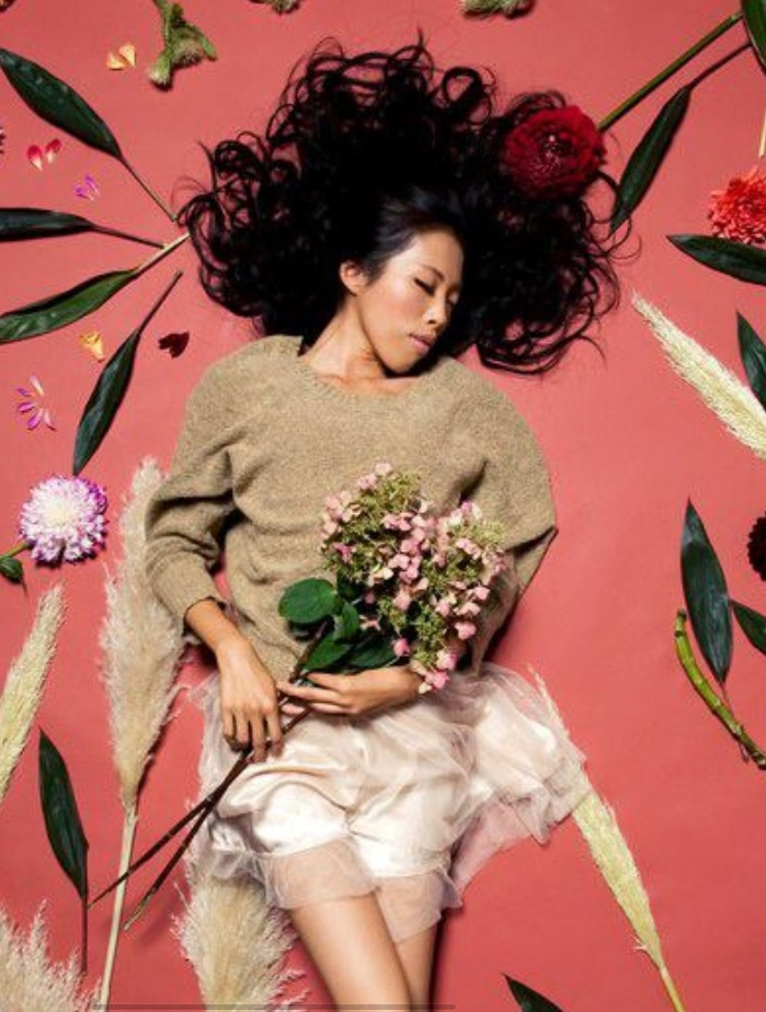 Female model photo shoot of MARI K in 講談社 Koudansya