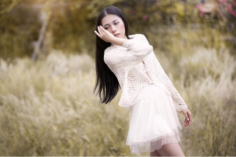 Female model photo shoot of MARI K in Japan