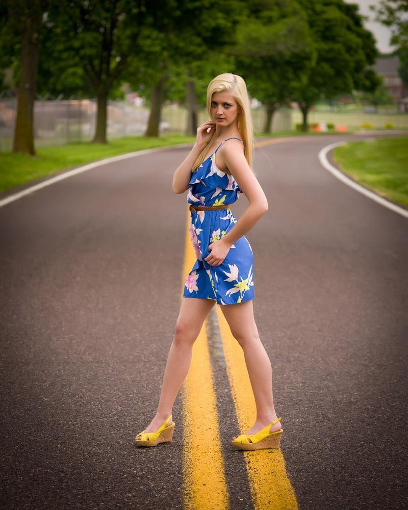 Female model photo shoot of SS Brooke