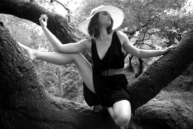 Female model photo shoot of Leila Sky in Golden Gate Park SF