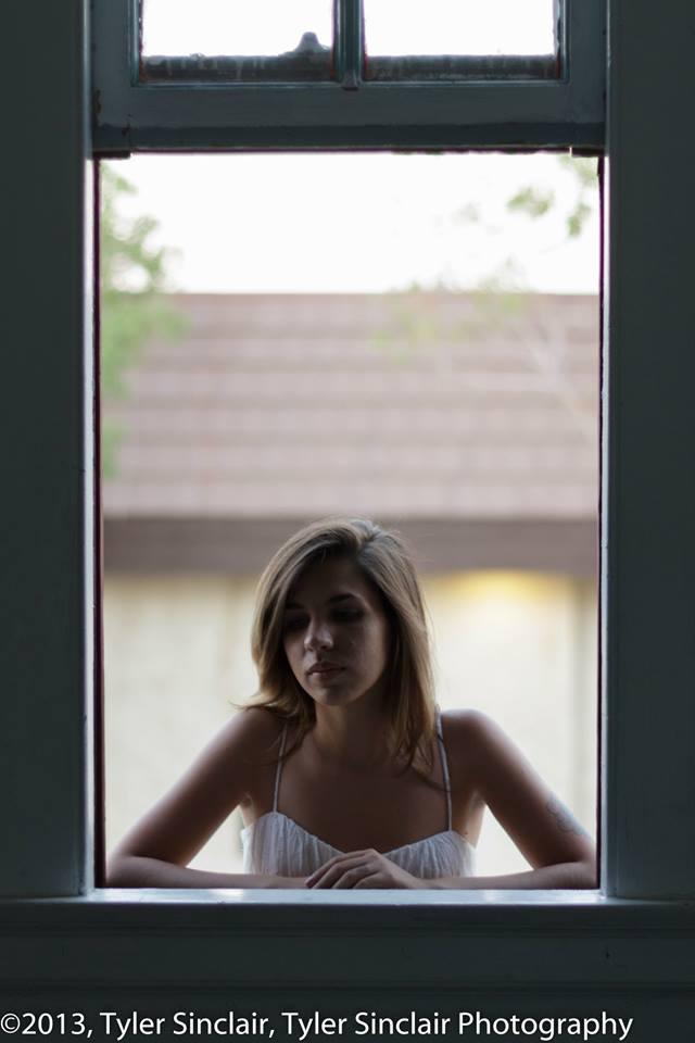 Female model photo shoot of Mina Blue in Cedar Art Center, CA