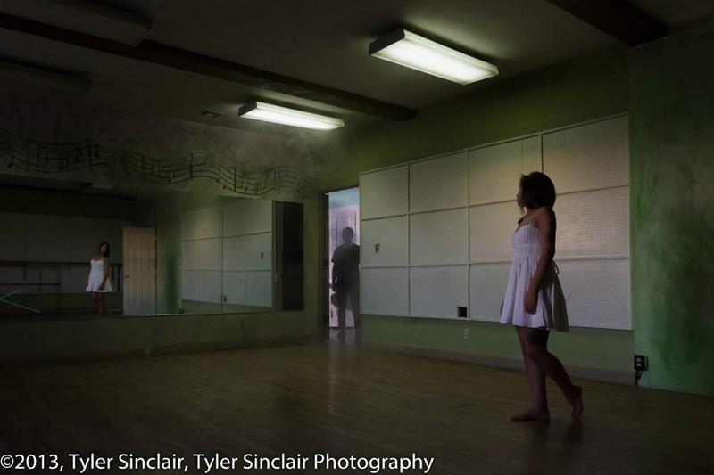 Female model photo shoot of Mina Blue in Cedar Art Center