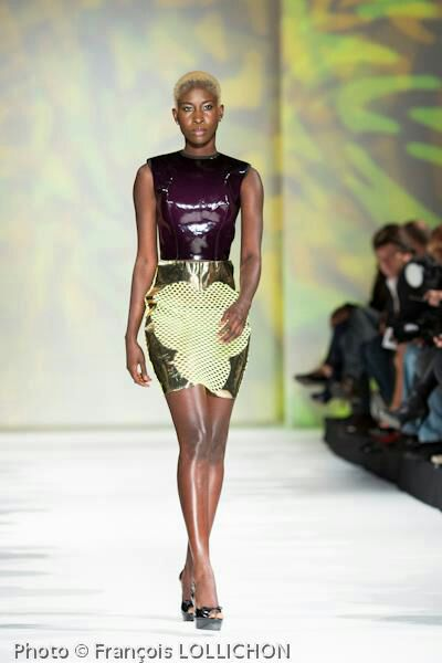 B. Fashion week paris 2012 Aug 18, 2013 for Laquan Smith
