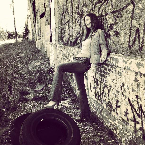 Female model photo shoot of Basia Tomaszek in Detroit, MI