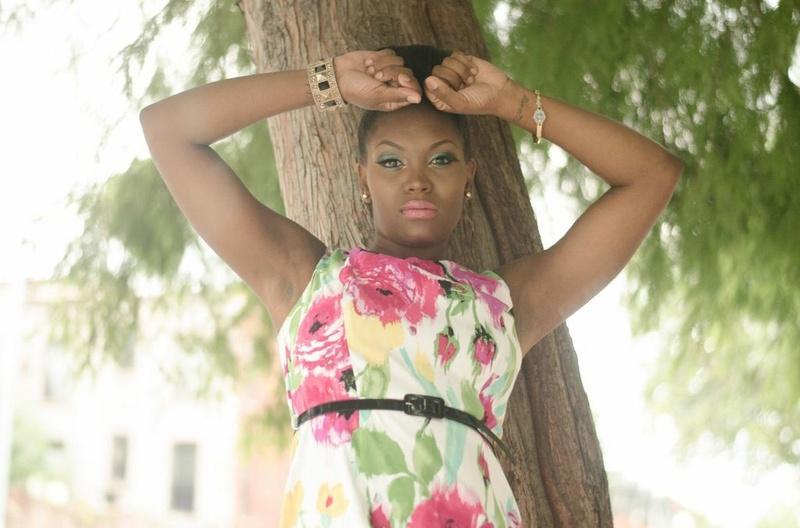 Female model photo shoot of Nana Cee in Brooklyn, NY @ Noel New York Hair and Boutique