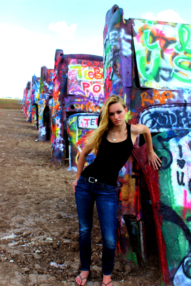 Cadillac Ranch, Amarillo, TX Aug 27, 2013