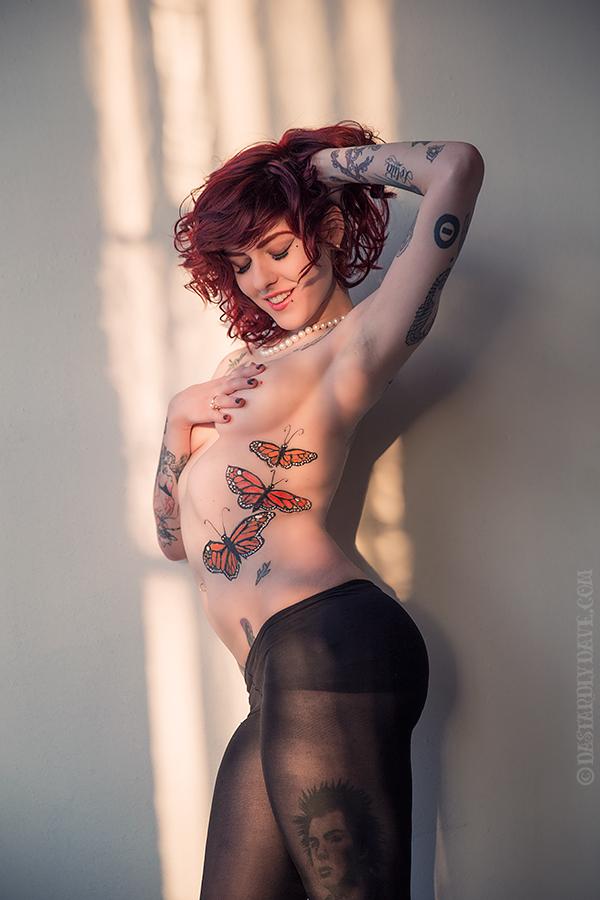 Female model photo shoot of Leanna Banana by Dastardly Dave