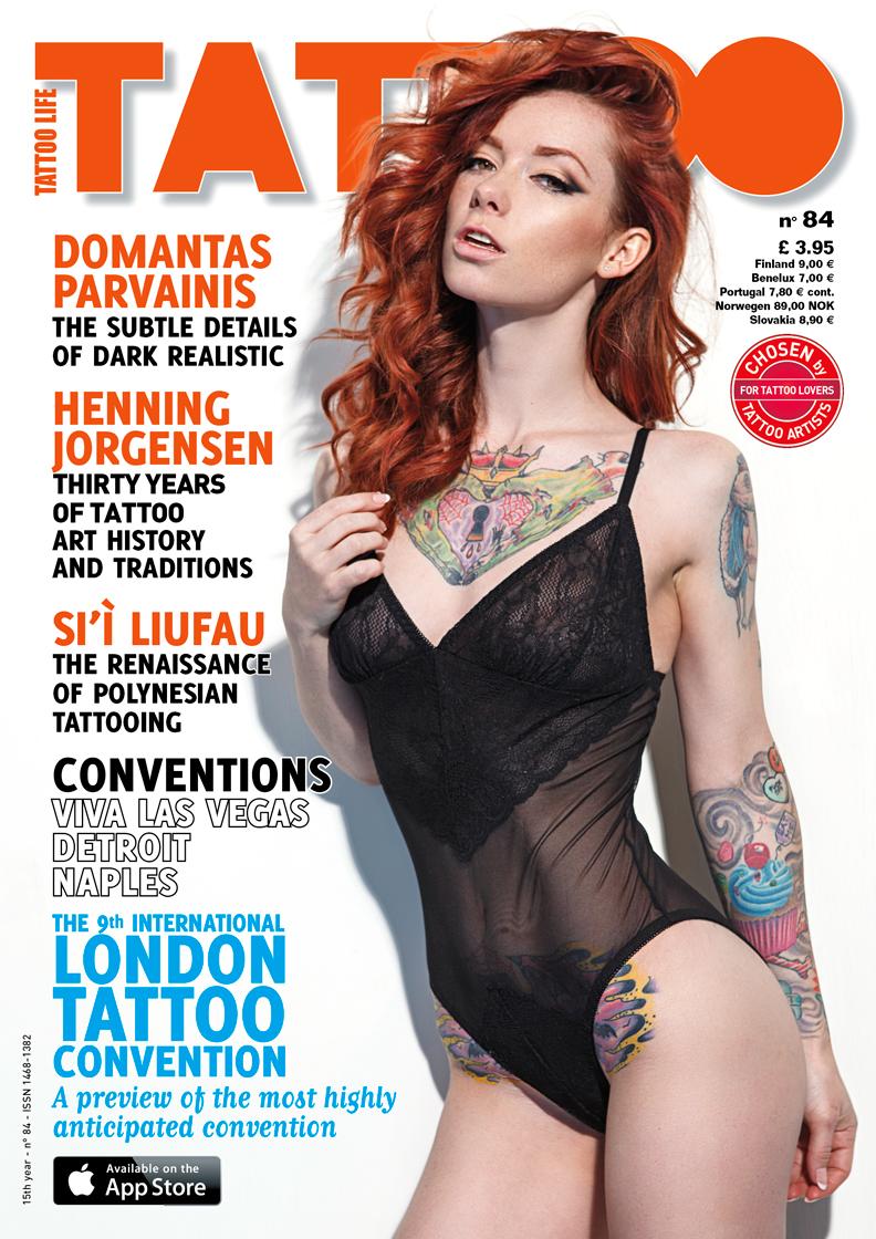 Aug 29, 2013 Christian Saint Hattie Watson / Tattoo Life Cover