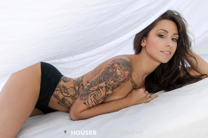 Female model photo shoot of Holly Hocks