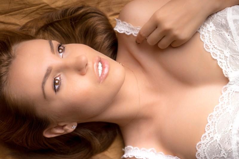 Female model photo shoot of My name is Lena by CZ Digital in Studio