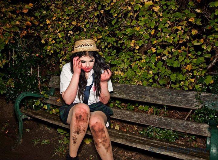 Female model photo shoot of Jay Darling