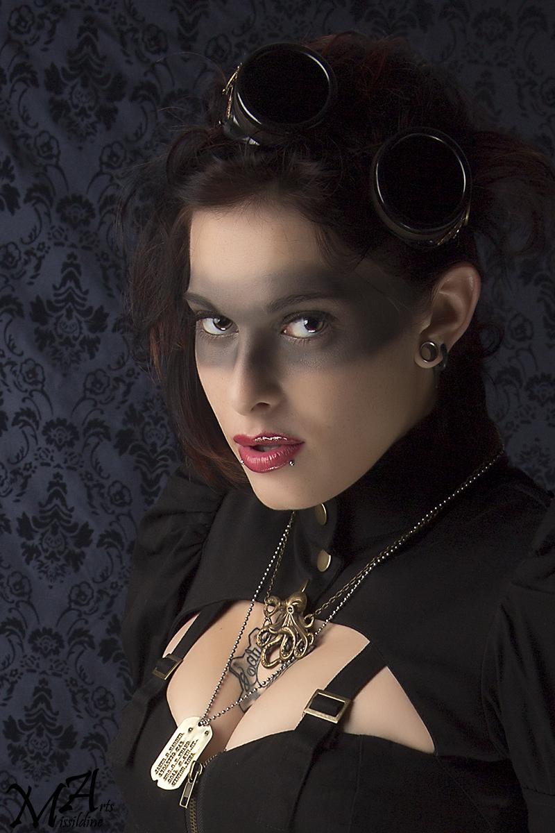 Female model photo shoot of Borah_MUA_and_Hair and Sasha Siren by Missildine Arts in Allen, TX