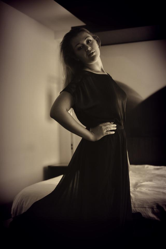 Female model photo shoot of Sadiebug89 by DKImaging in The W Hotel - Midtown Manhattan, makeup by Faces by Sadie H