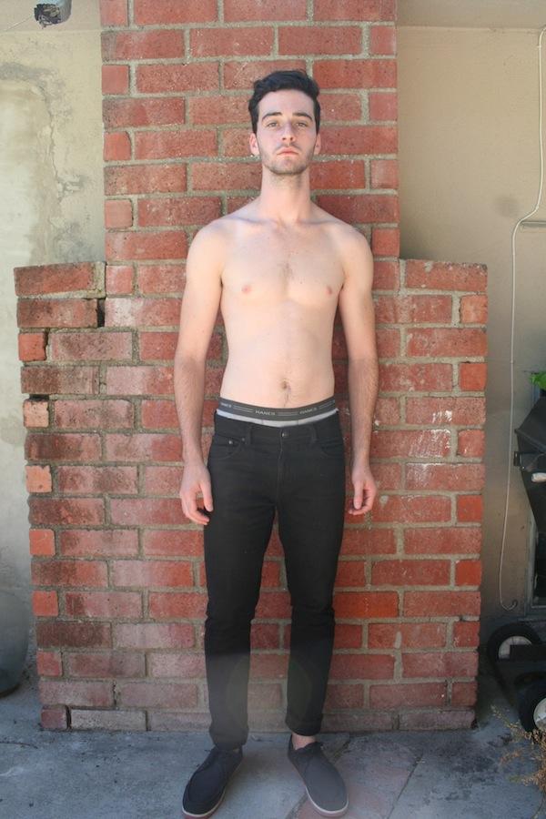 Male model photo shoot of Eli James