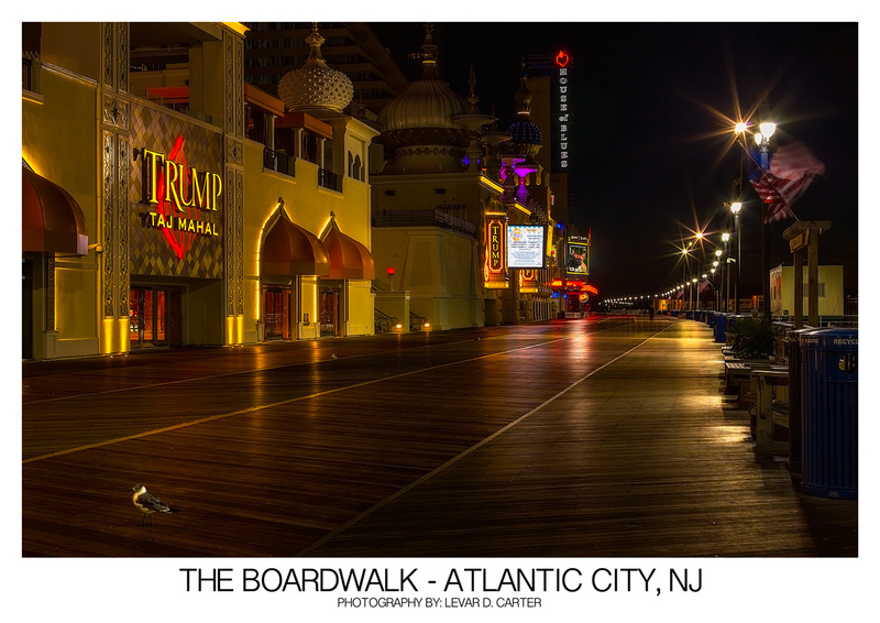 Atlantic City, NJ Sep 08, 2013 Copyright 2013 LeVar D. Carter. All Rights Reserved. The Boardwalk - Atlantic City, NJ