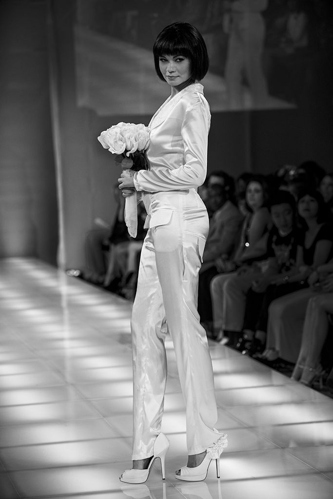 The New Yorker Hotel NYC Sep 08, 2013 Bruce Herlitschek The Art of Imagings Diana Budur Walked for Helen Fall fashion Week 2013