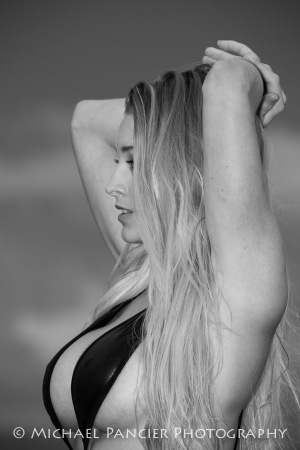 Hillsboro Inlet, Florida Sep 09, 2013 © Michael Pancier Photography Kari Nautique Swimsuit B&W