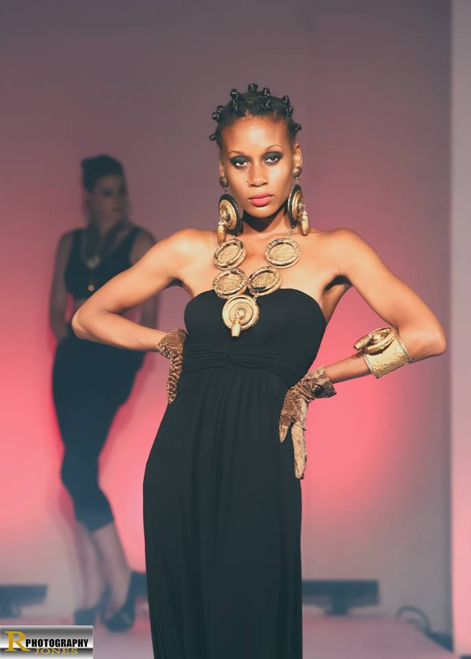Harlem, New York - The Poets Den Sep 10, 2013 Azy Banks Fashion Show - Jewelry Designer: Phil Harris