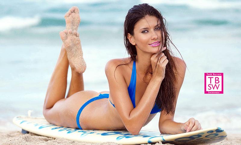 Miami Beach, Fl Sep 10, 2013 www.Toddbarrettswimwear.com Ariane De Souze, MC2 Model Management, photographer & swimwear Todd Barrett