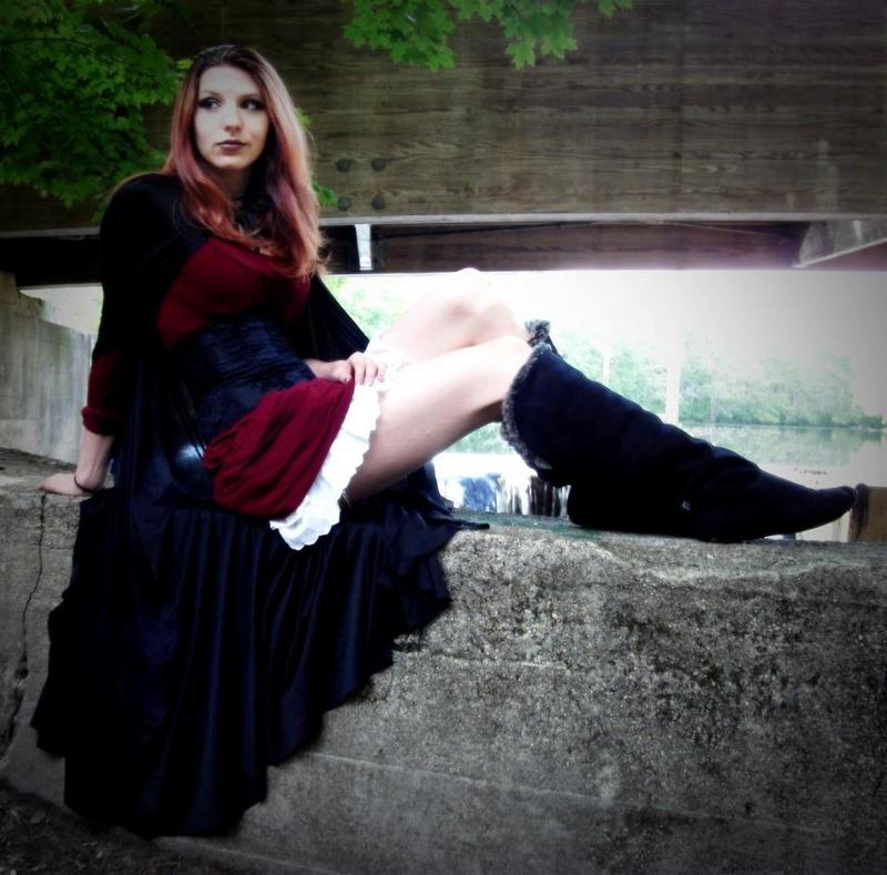 Female model photo shoot of Deanna Brita