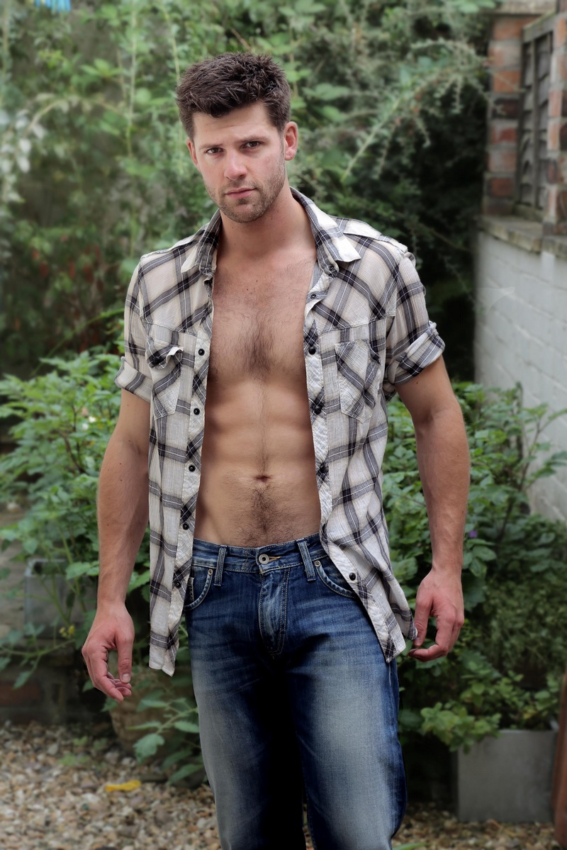 Male model photo shoot of oliver park