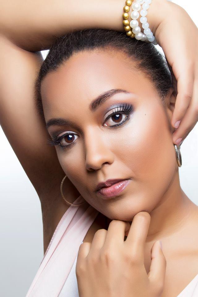 Female model photo shoot of Makeup by Ilse Mercedes