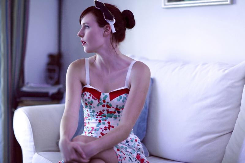 Female model photo shoot of Mieka Black by Izzy Gramp