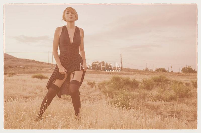 Female model photo shoot of Nana Okada by Nathan Teutli