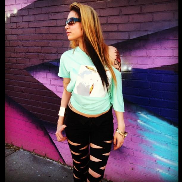 Female model photo shoot of Felicia Vox