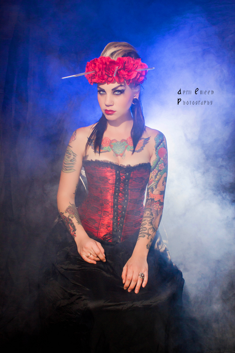 Female model photo shoot of AprilEileen Photography