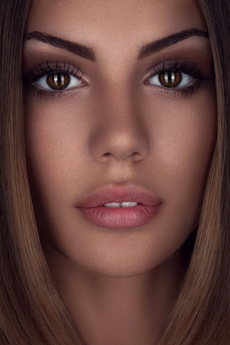 Female model photo shoot of OlgaRetouch by stephaneb