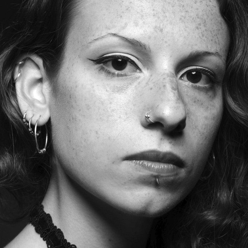 Female model photo shoot of Claudia Fonseca by Nuno Brito in Lisbon