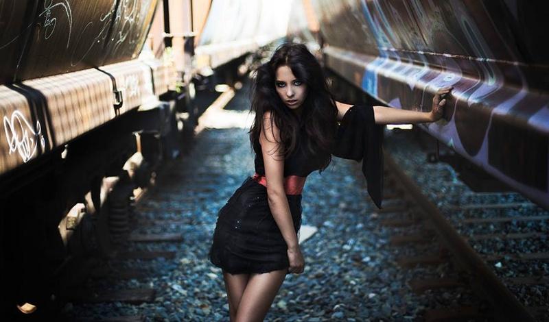 Female model photo shoot of Paige Foley and Alanna Pearson
