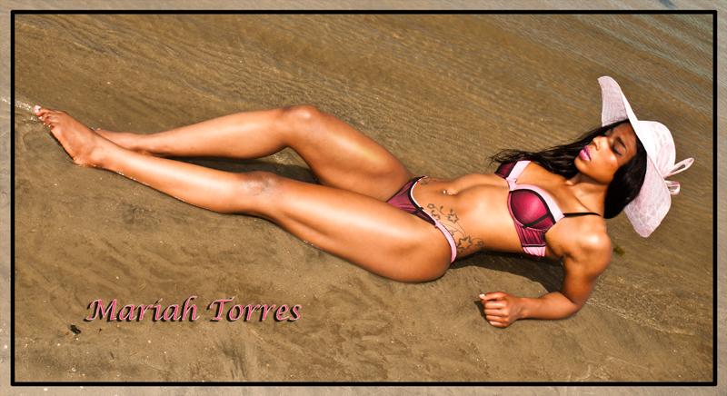 South Carolina Beach Oct 01, 2013 Bikini In Focus.com Model Mariah Torres
