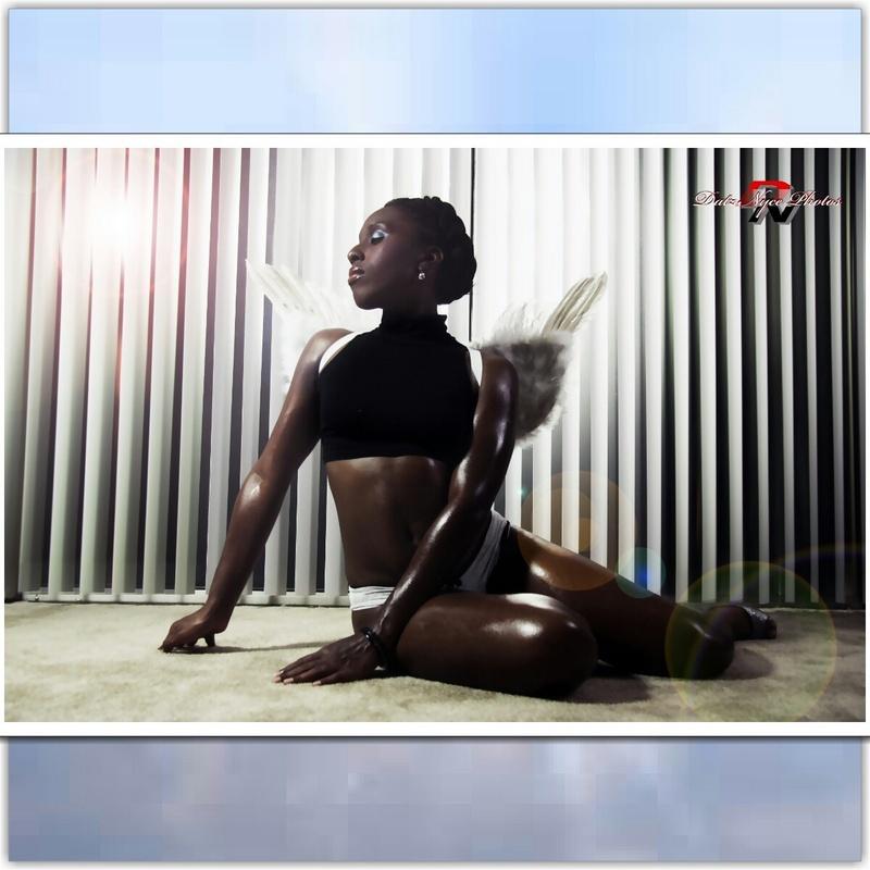 Male model photo shoot of Nyce Body of Work in Datz Nyce Studio