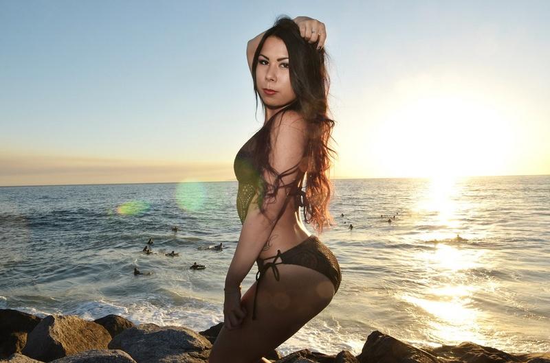 Female model photo shoot of Hope Lane by RingoJ66 in Newport, CA