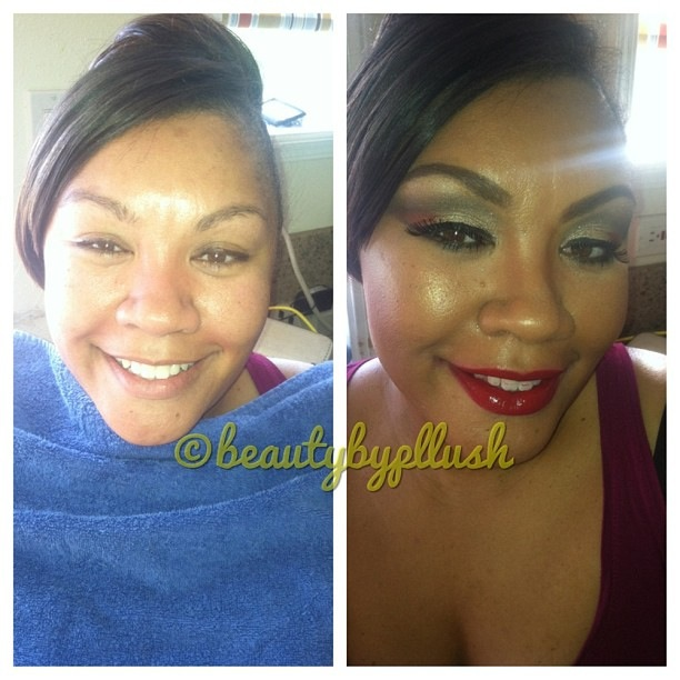 Female model photo shoot of Beautybypllush Artistry in oakland ca