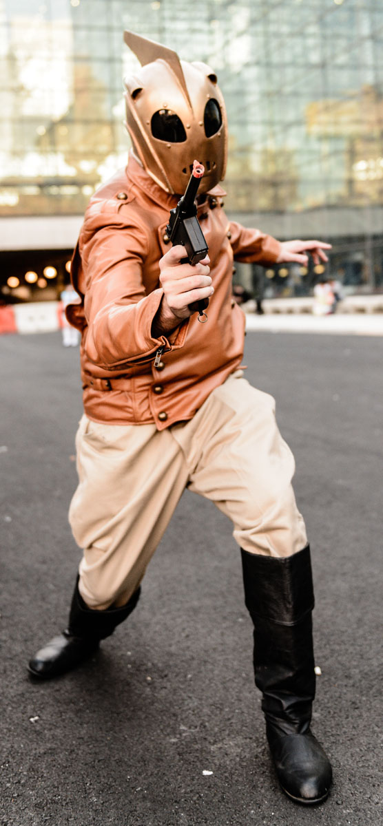 Male model photo shoot of Keller Photography in New York Comic Con
