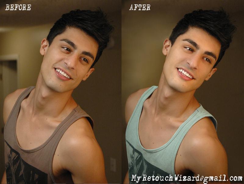 Male model photo shoot of MyRetouchingWizard