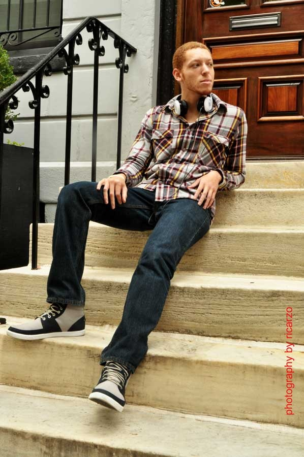 Male model photo shoot of Allen Christian in Philadelphia