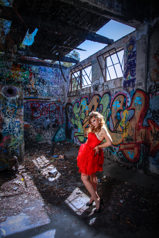 Female model photo shoot of Eliz Rose by Philip R in Scary Dairy