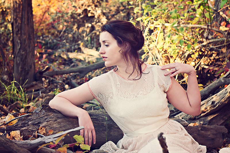 Female model photo shoot of Emily Huber by eliseeve in Police Point Park, Medicine Hat AB