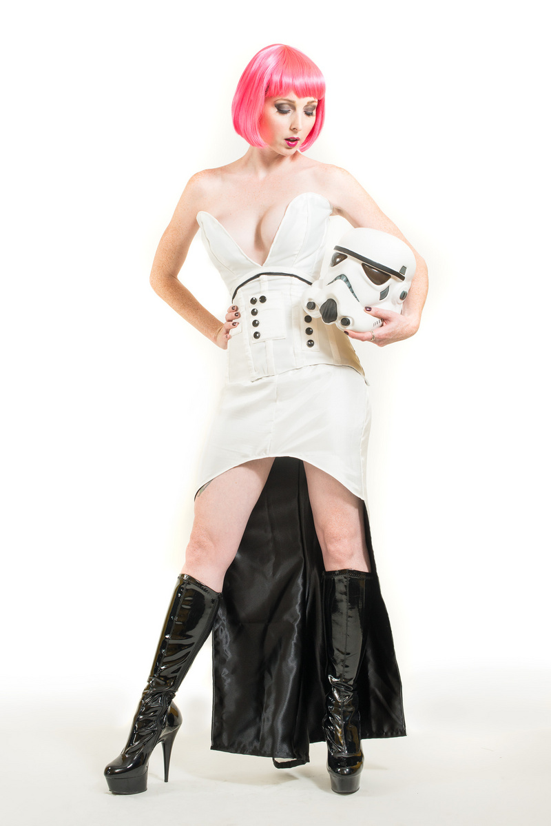 Oct 21, 2013 Dream Theory Studios Storm Trouper (corset by birdcage corsetry)