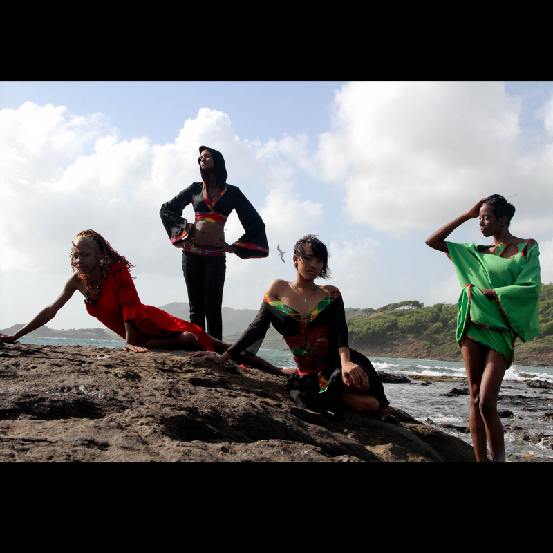 Female model photo shoot of CFreedom Photography in Cas en Bae Beach, St. Lucia