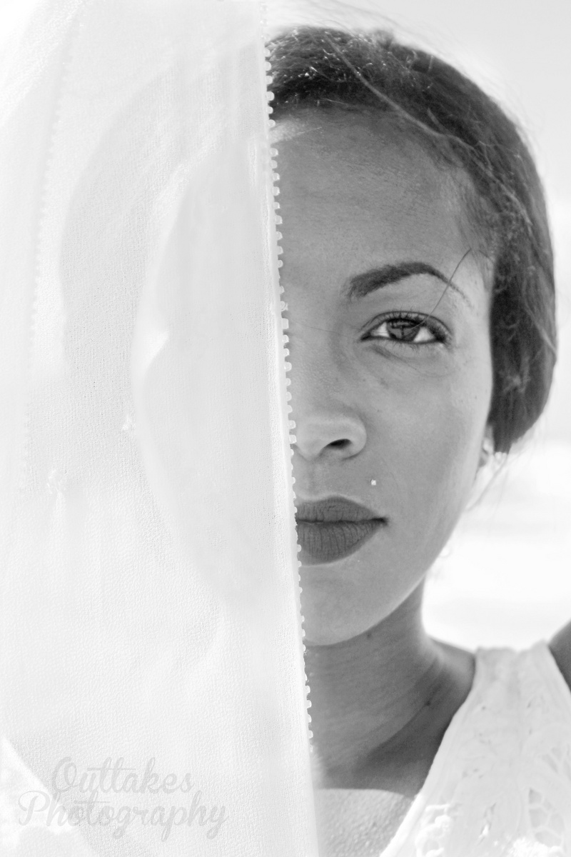 Female model photo shoot of Joana M by AntlersandArrowsPhoto