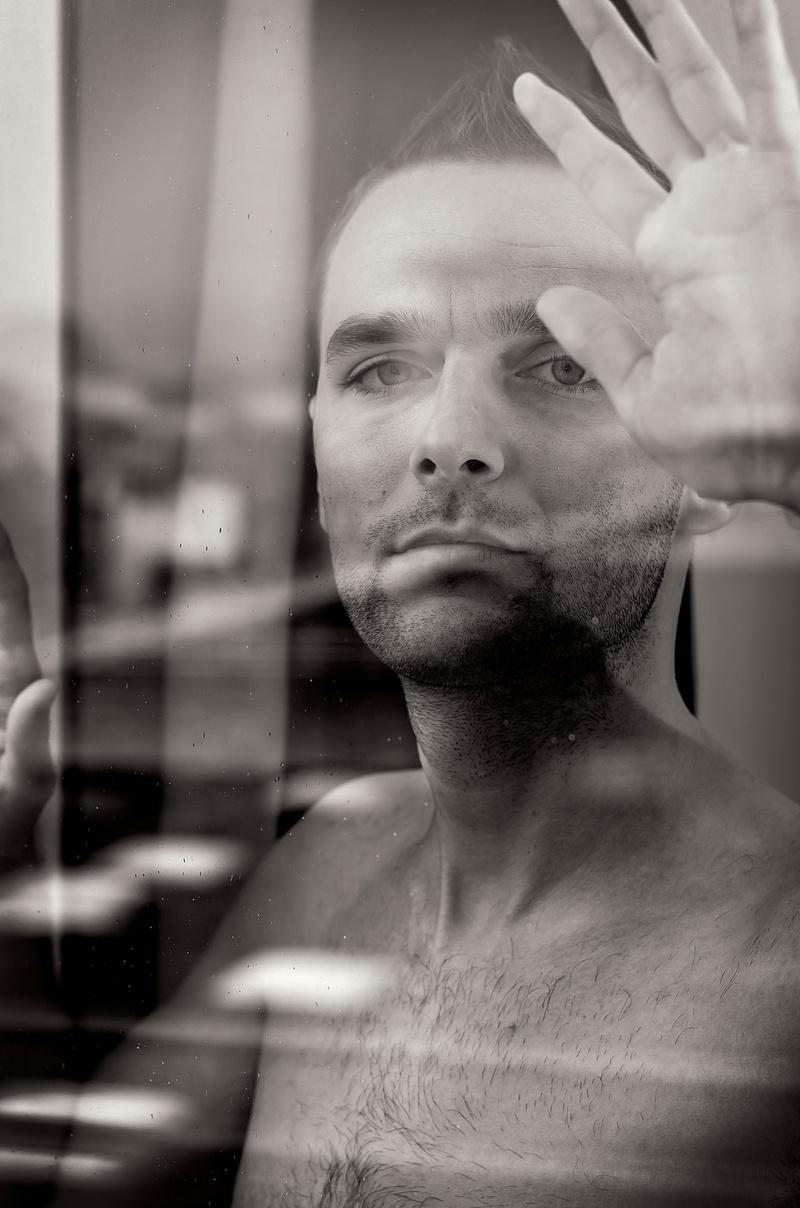 Male model photo shoot of adam_dub by Andre Delhaye