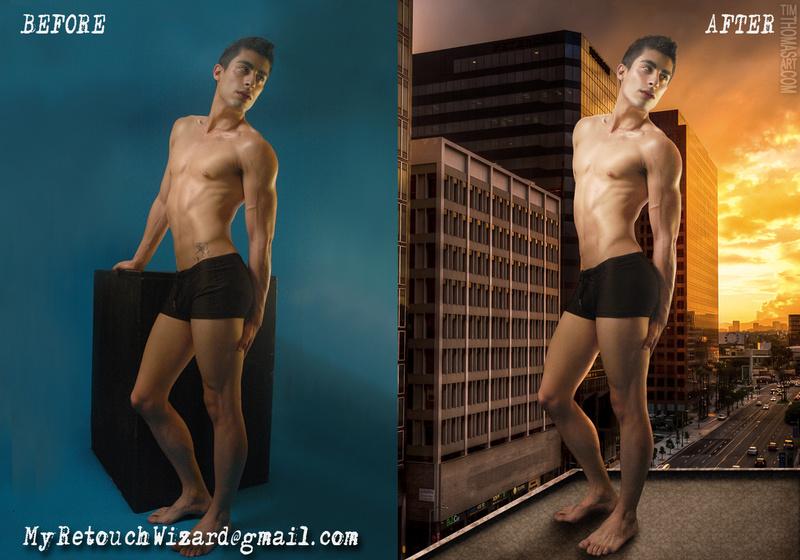 Male model photo shoot of MyRetouchingWizard and Gabriel Gruwell by KaotikDizine in TimThomasArt.wix.com/retouching