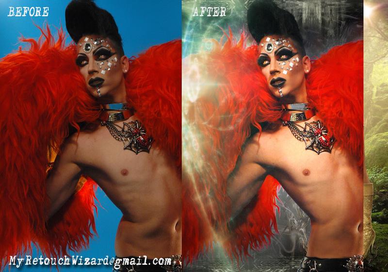 Male model photo shoot of MyRetouchingWizard in TimThomasArt.wix.com/retouching